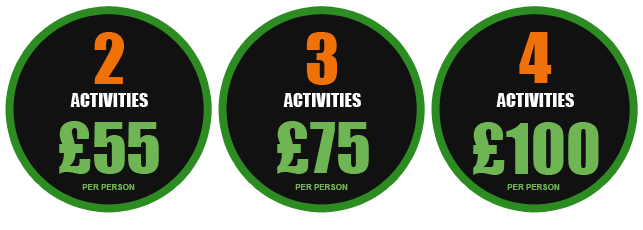 Multiple Activities with Bristol Activity Centre