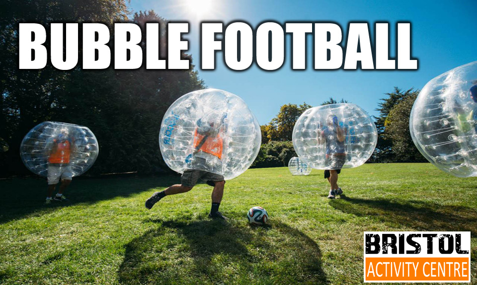 Things to do in Bristol Corporate Days Out Zorbing Bubble Football - Bristol Activity Centre