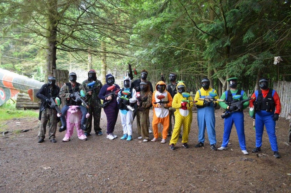 paintball fancy dress bristol
