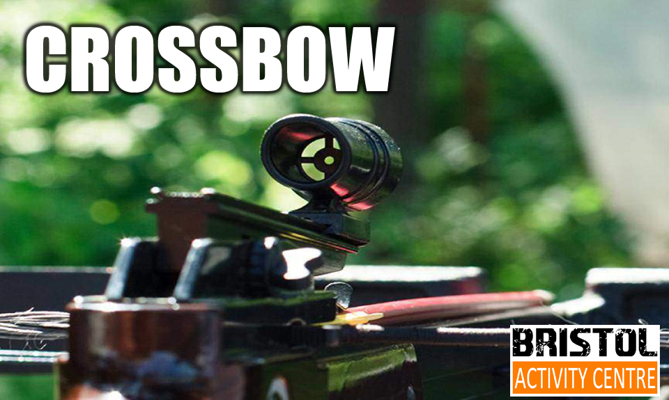 Crossbow shooting bristol activity Centre